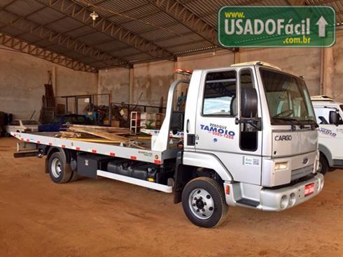 Veículo à venda: ford cargo 816 guincho plataforma de 6 metros