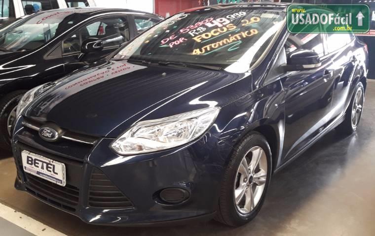 Veículo à venda: focus s sedan automatico flex