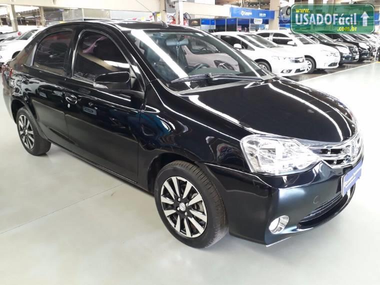 Veículo à venda: etios sedan platinum mecânico flex