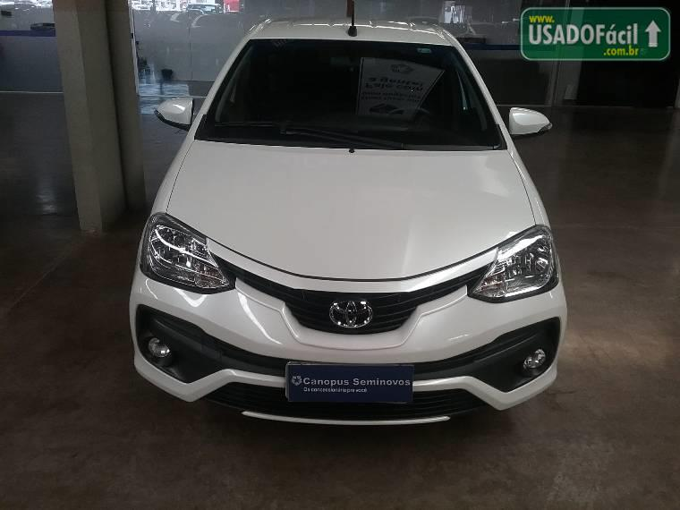 Veículo à venda: etios hatch platinum flex