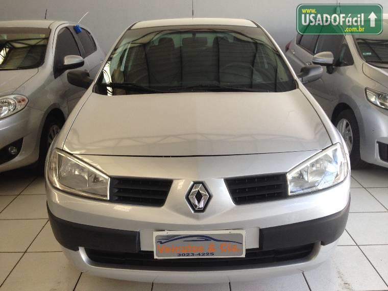Veículo à venda: megane sedan expression hi-flex