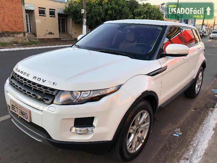 Veículo à venda: range rover evoque pure