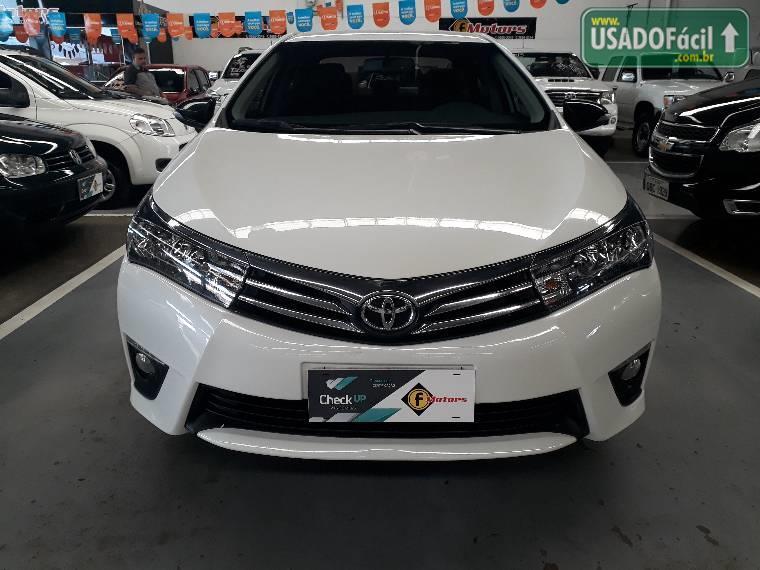 Veículo à venda: corolla dynamique automático flex