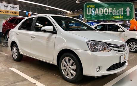 Veículo à venda: etios sedan xls automatico