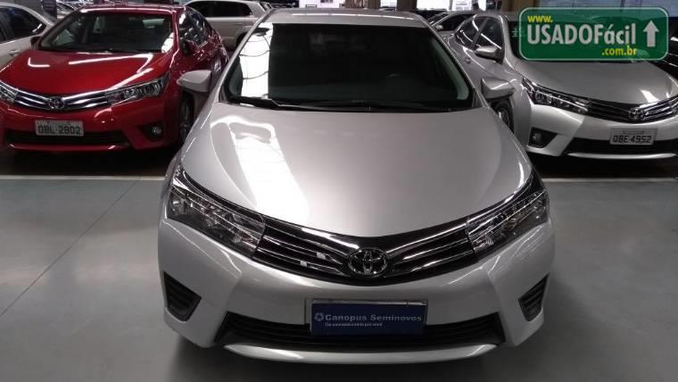Veículo à venda: corolla gli upper automático flex