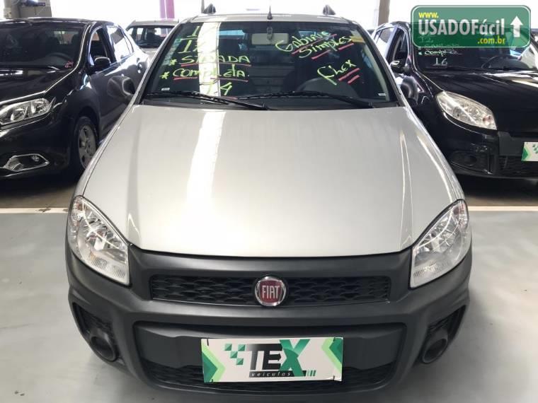 Veículo à venda: pick-up strada hard working cs flex