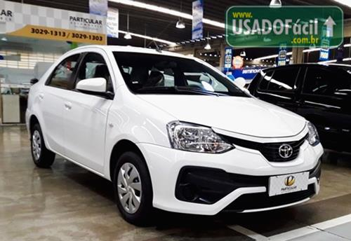 Veículo à venda: etios sedan xs automático flex