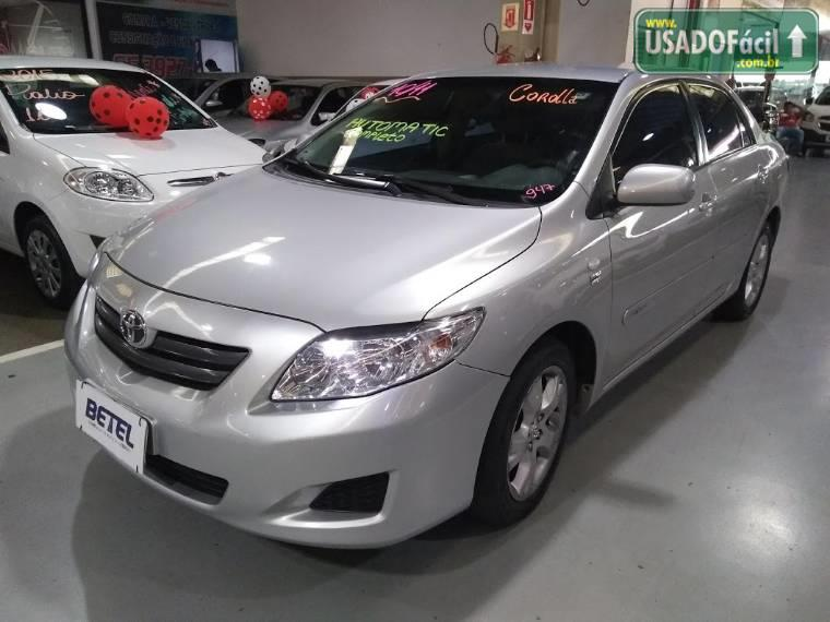 Veículo à venda: corolla xli automático flex