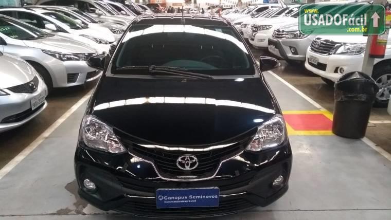 Veículo à venda: etios sedan platinum automático flex