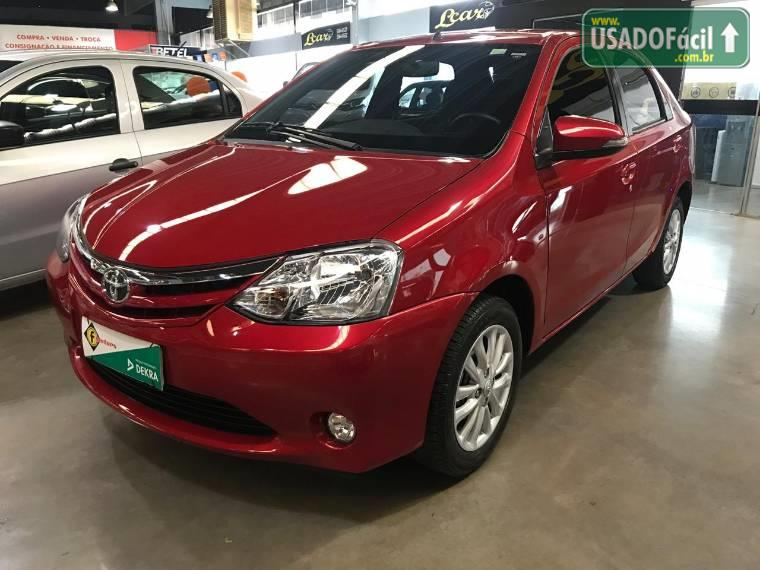 Veículo à venda: etios sedan xls flex