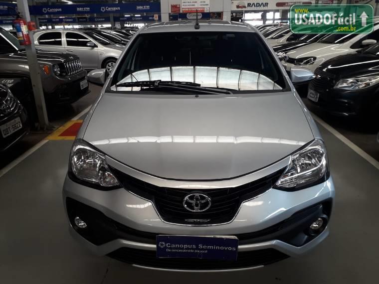 Veículo à venda: etios hatch platinum automático flex